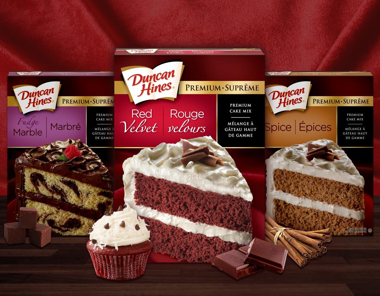 Duncan Hines cake mixes OU kosher certification