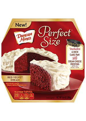 Duncan Hines perfect size OU kosher certification