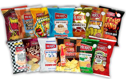 Herr's chips OU Kosher certification