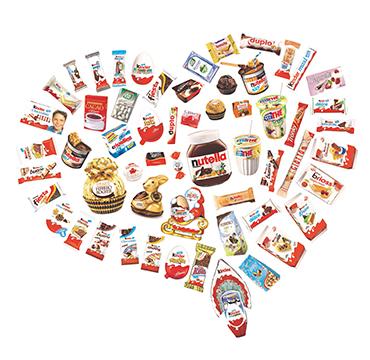 Ferrero products OU kosher certification