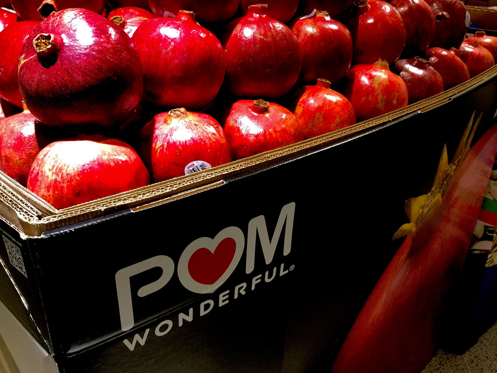 Pom Wonderful pomegranates OU kosher certification