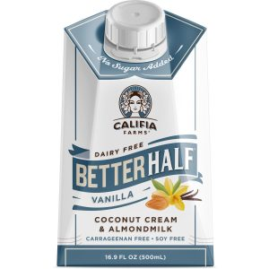 Califia cream OU kosher certification