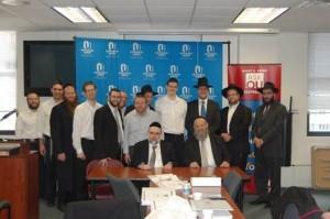 ASKOU 12 Rabbi Elefant and participants