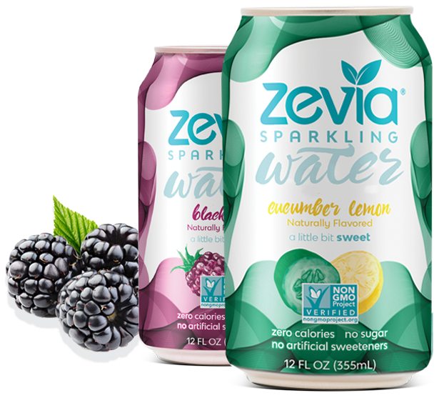 Zevia sparkling soda OU Kosher certification