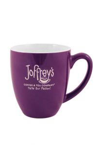 Joffrey's coffee mug OU Kosher certification