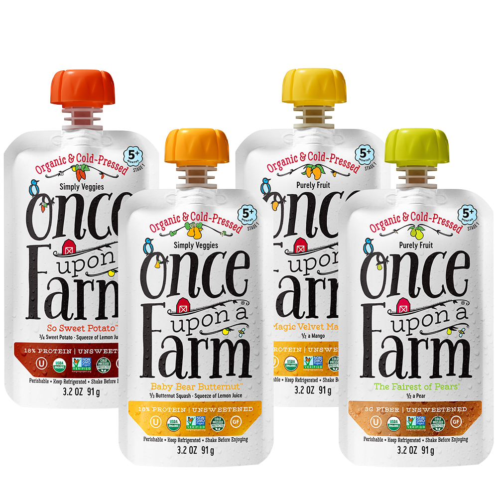 Once upon a farm OU Kosher certification