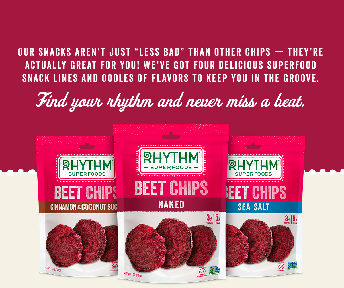 Rhythm Superfoods Beet OU kosher certification