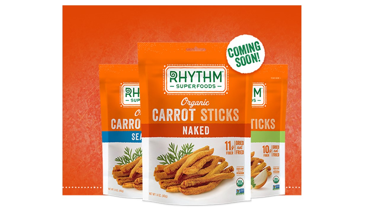 Rhythm Carrot Sticks OU kosher certification