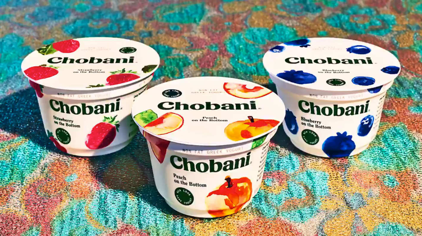 The competitors of Chobani in yogurt market