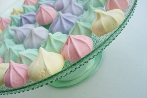 colorful meringues OU Kosher