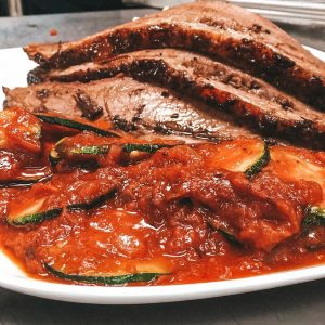 Burnt Offerings is known for their in-house smoked brisket.