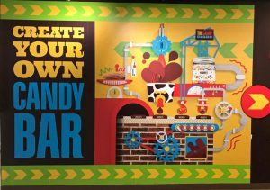 Hershey Park - Make your own Chocolate bar
