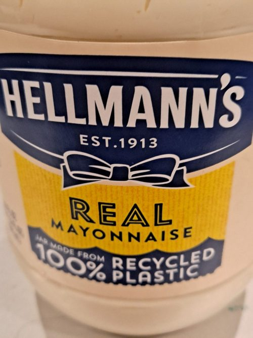 Hellman's Made By Unilever Unveils Its 100% Recyclable Plastic Bottle