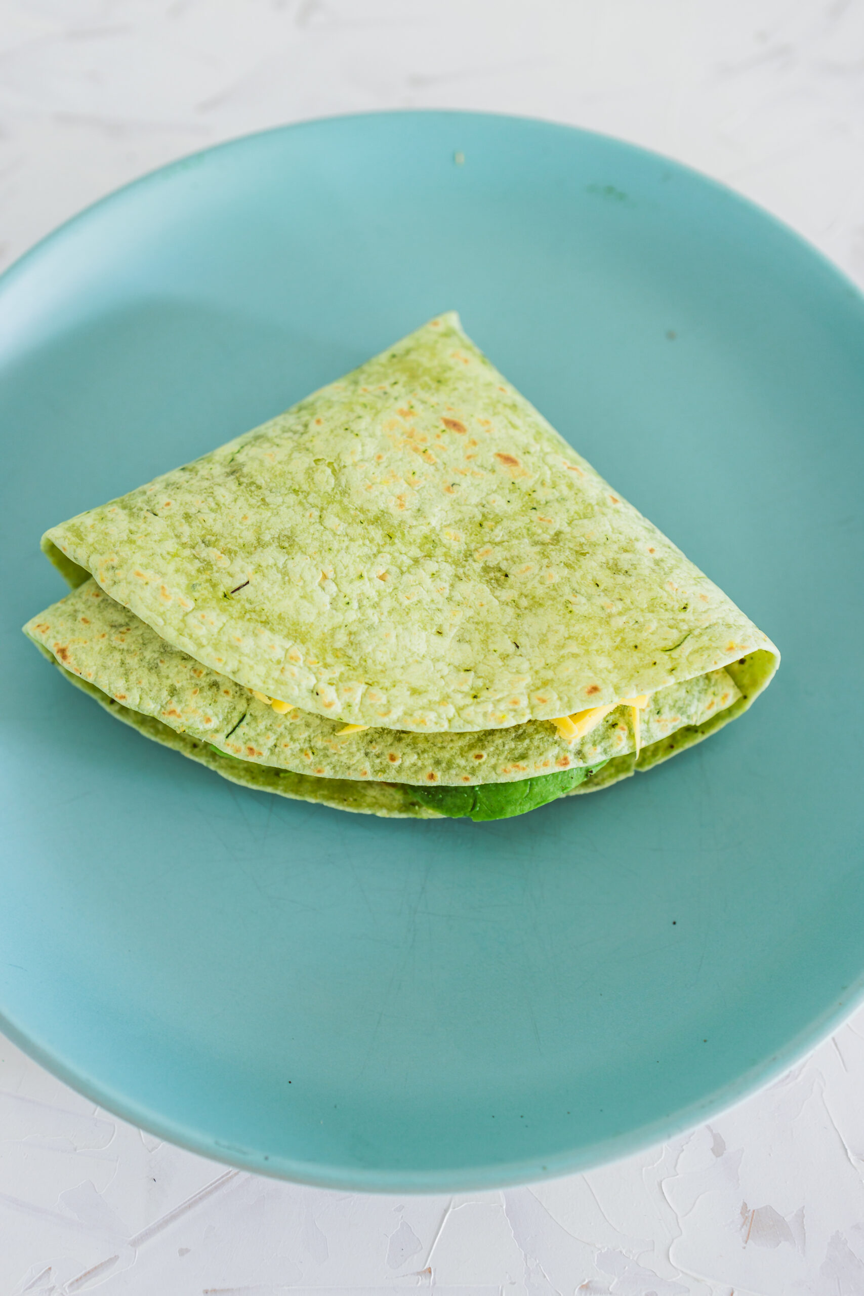 A Folded Tortilla Wrap Hack