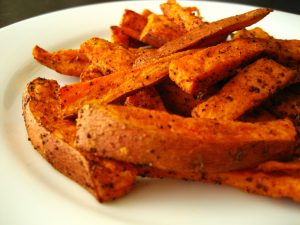 sweet potato fries ou kosher for pesach