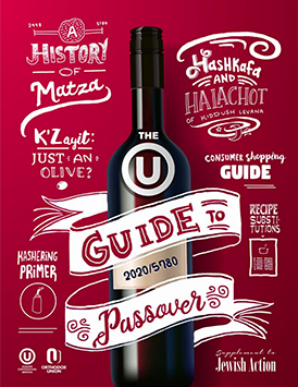 Passover Food Guide