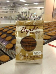 BYRD'S FIRST BATCH OF OU CERTIFIED SCOTCH OATMEAL COOKIES