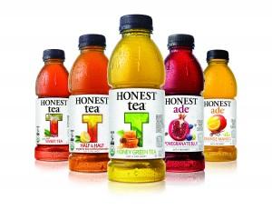 Honest Tea bottles