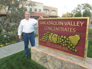 JOSEPH ROSSI, SJVC'S VICE PRESIDENT AND GENERAL MANAGER