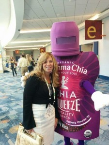 OU Kosher Behind the Union Symbol – PHYLLIS KOEGEL, SEEN WITH ORGANIC MAN, ATTENDING NATURAL PRODUCTS EXPO IN ANAHEIM, CA MARCH 2015.