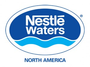 OU Kosher Behind the Union Symbol – Nestle Waters logo