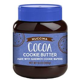 Nuccina Cocoa Cookie Butter