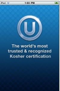 OU Kosher App